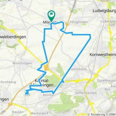 Möglingen Korntal-Münchingen Mögl. 26 km 220 m
