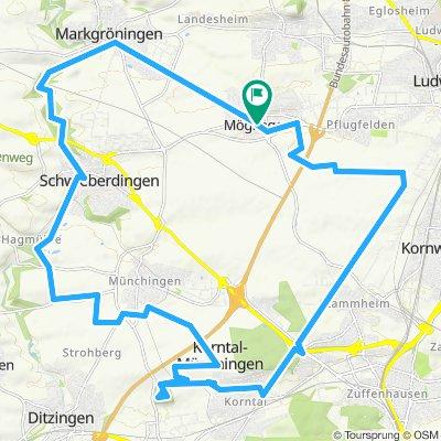 Möglingen Korntal-Münchingen Mögl. V2 36 km 320 m