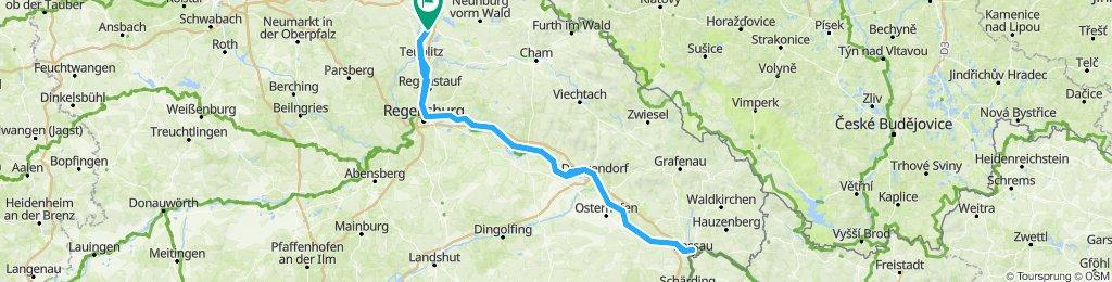Schwandorf-Passau-Schwandorf