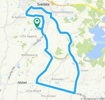 Steady ride in Svedala