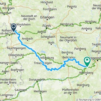 Altmühl-Radweg ab Papa