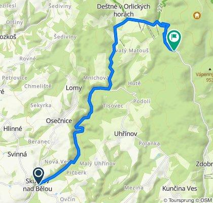 ORLICKY ROLLERSKI CUP - 16 km, výjezd na Luisino údolí