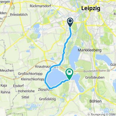Radrennbahn Leipzig - Kap Zwenkau (1)