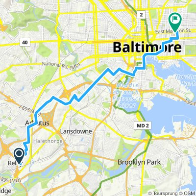 Easy ride in Baltimore