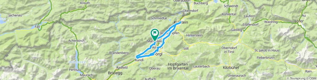 Rundfahrt Breitenbach-Kufstein