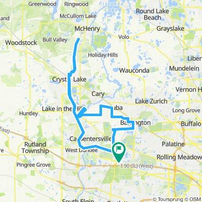 100 mile loop