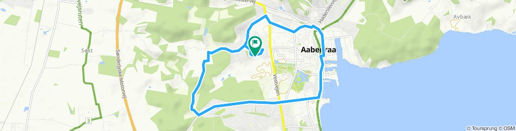 Easy ride in Aabenraa