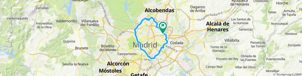 Cinturón verde Madrid