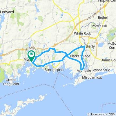 20 Mile Road Ride