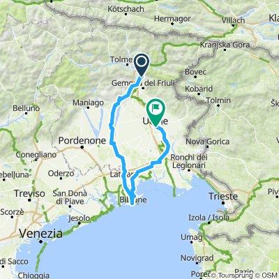 Venzone - Bibione -Udine