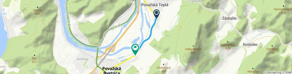 Nepretržitá jazda Považská Bystrica