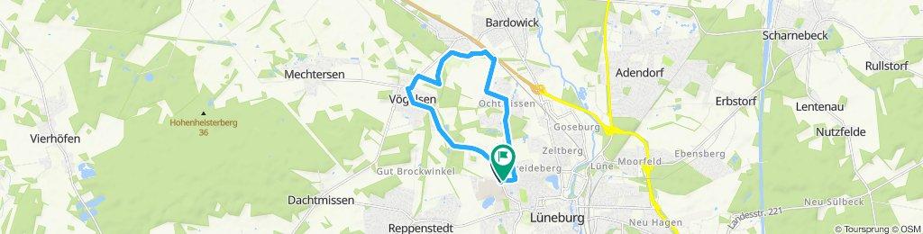 Lüneburg, Vögelsen, Ochtmissen Rundtour