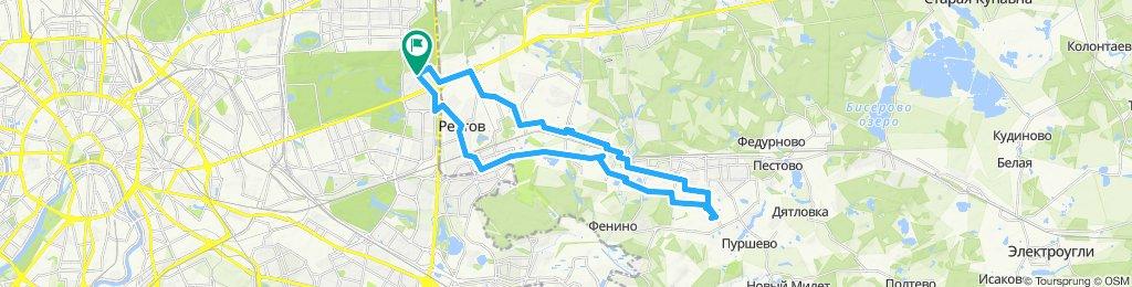 Велозабор из Железнодорожного 04 06 2019