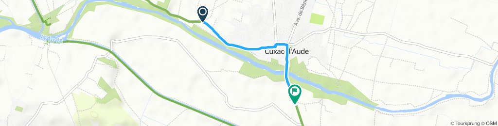 Gemütliche Route in Cuxac d'Aude