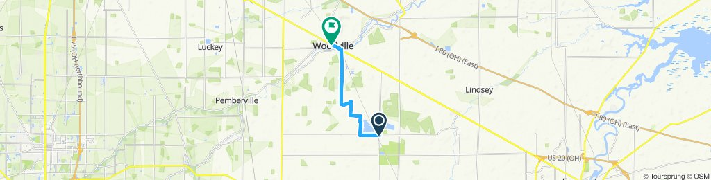 Relaxed route to Woodville