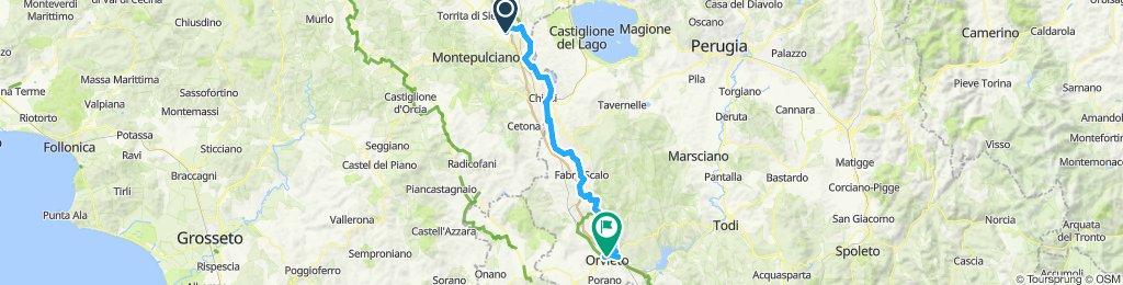 Montepulciano Stazione Cycling