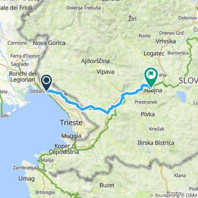 Sistiana - Postojna (Open-Cycle trail)