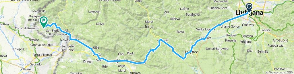 ljubljana - brda