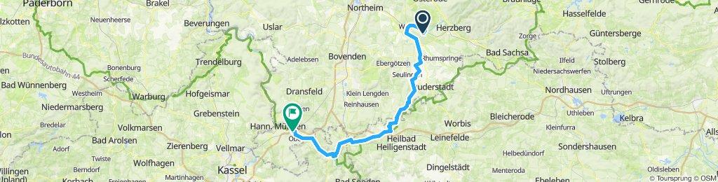Hattorf - Uder - Witzenhausen - HMÜ-Laubach