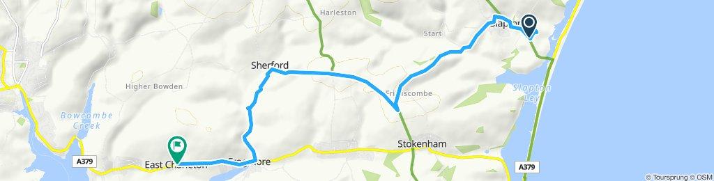 Langsame Fahrt in Kingsbridge