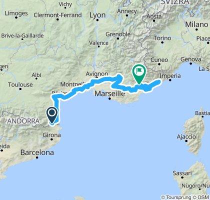 Mediterranean Cycle Route - EuroVelo 8