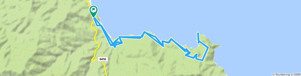 Moderate MTB route near Olympiada
