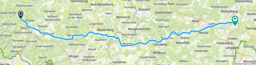 Niedersteinebach - Gießen