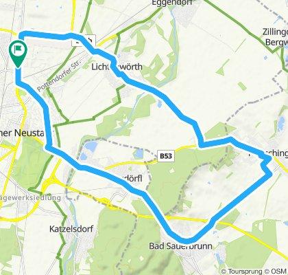 Wiener Neustadt - Bad Sauerbrunn