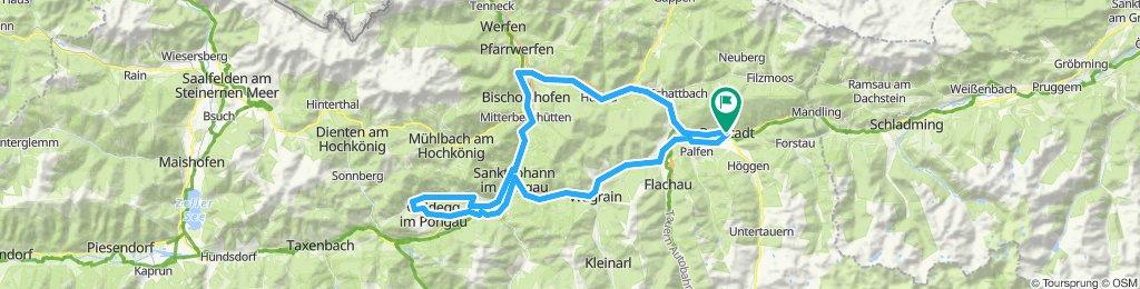 Radstadt nach Goldegg