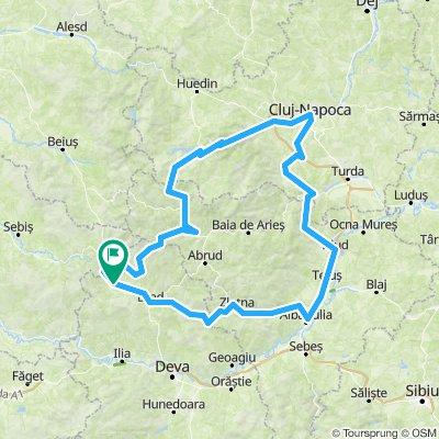 traseu 1    420km