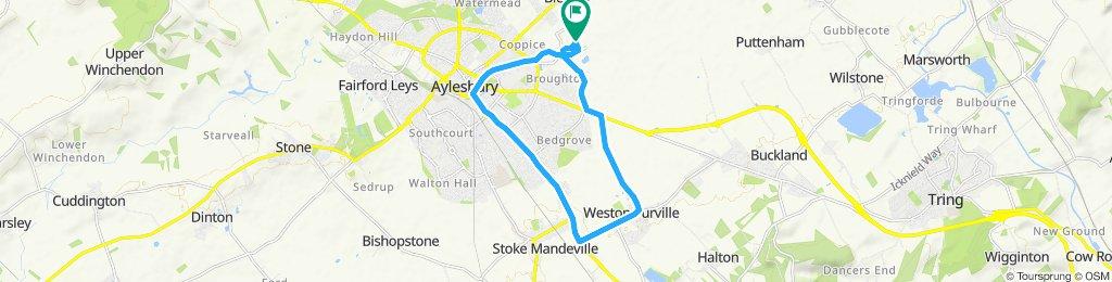 Easy ride in Aylesbury