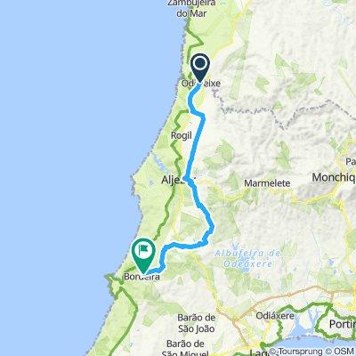 DAY 3:  ODECEIXE to BORDEIRA