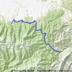 6(a). Tag - Mountainbike Reise durch die rumänischen Karpaten >>> http://www.kette-rechts-reisen.de