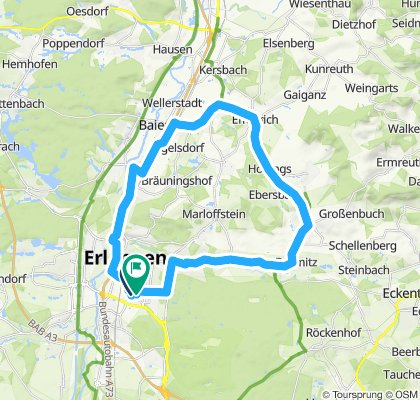 Erlangen Effeltrich Neunkirchen zurück