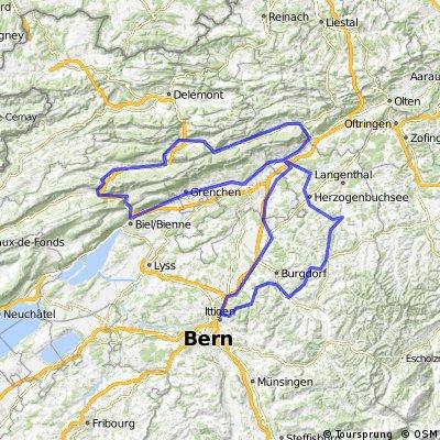 Radmarathon Wiedlisbach 2008 200km