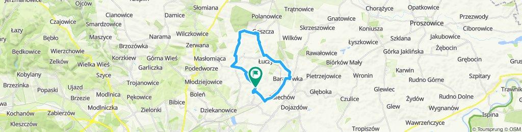Easy ride in Wikt-Wiec-Zagorz-Goszcza-Luczyce-Baranowka-Wikt