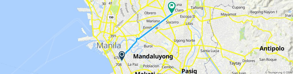 home to cubao