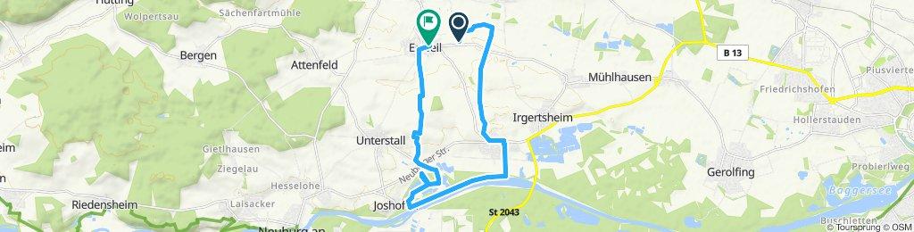Moderate Route in Egweil
