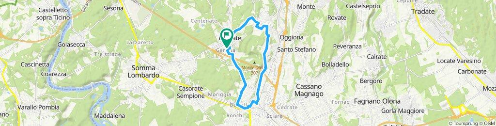Giro via Crenna