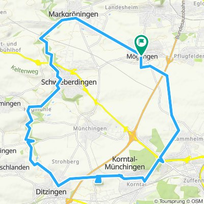 P2019-J3b_Möglingen Korntal-Münchingen Mögl. 33 km 330 m