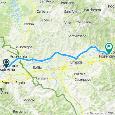 Easy ride in Montelupo Fiorentino