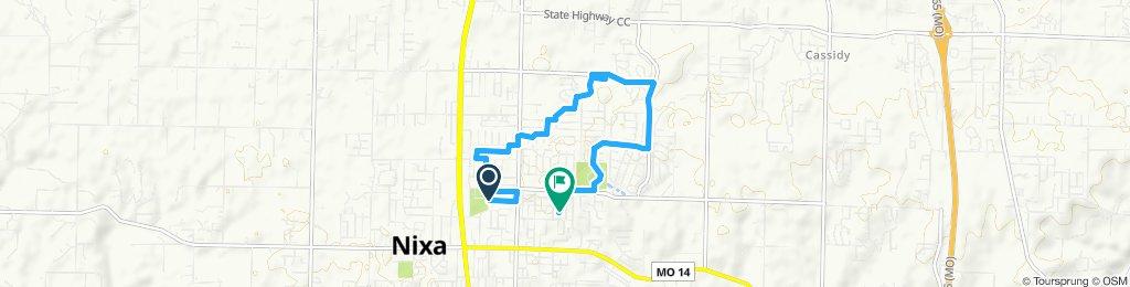 Slow ride in Nixa