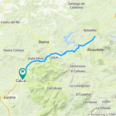 Vía Verde Cabra - Pte Noguerones río Víboras