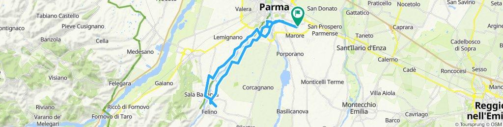 Percorso moderato in Parma