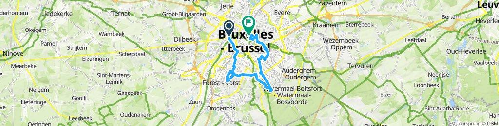 Visit Brussels. Parks and squares.