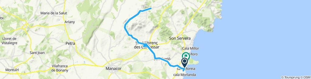 Moderate Route in Sant Llorenç des Cardassar