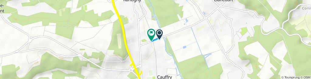 Moderate route in Rantigny
