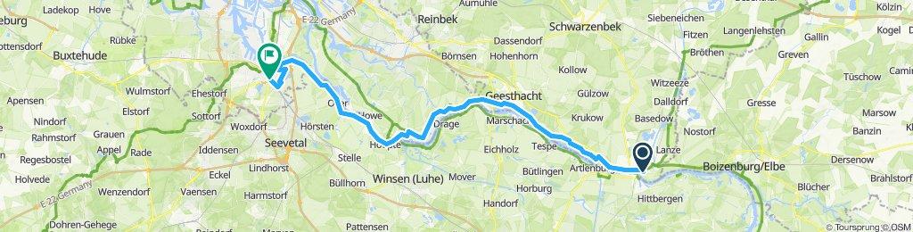 LauenburgからHarburg
