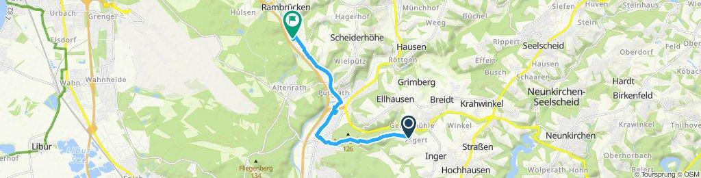 Moderate Route in Lohmar