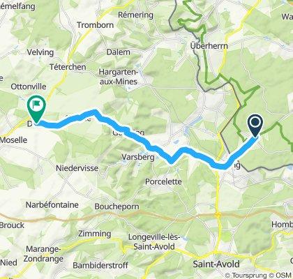 Steady ride in Kaiserslautern